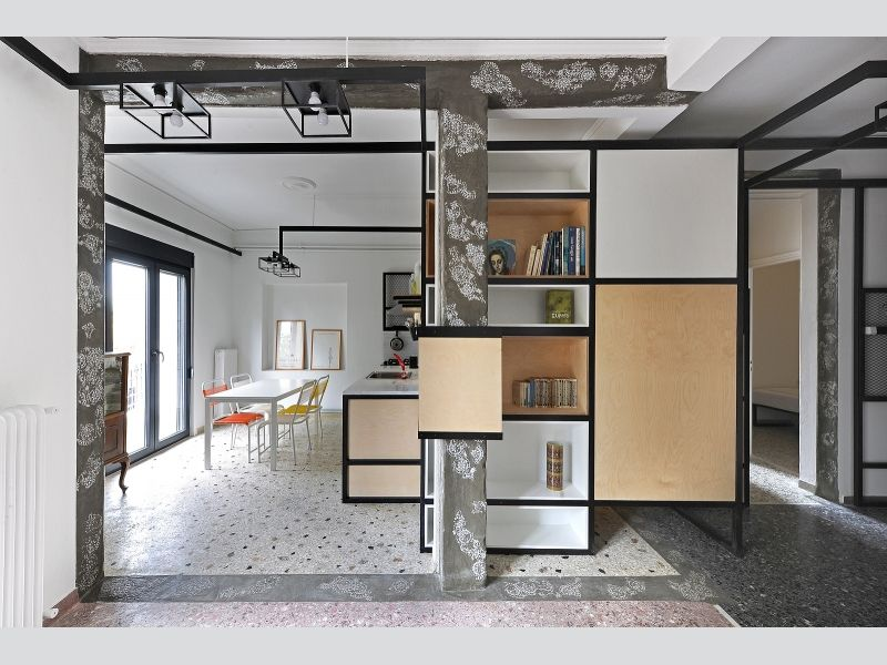 Superbe POLYTOPO Is A Low Cost Intervention To The Interior Of U201cpolykatoikiau201d  Apartments In Greece, Based On A New Construction System Aiming At  Upgrading.