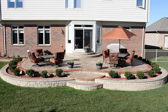 Biondo Cement   Patios Gallery / 04 Patio Design  In Macomb MI New Concrete Stone Walls