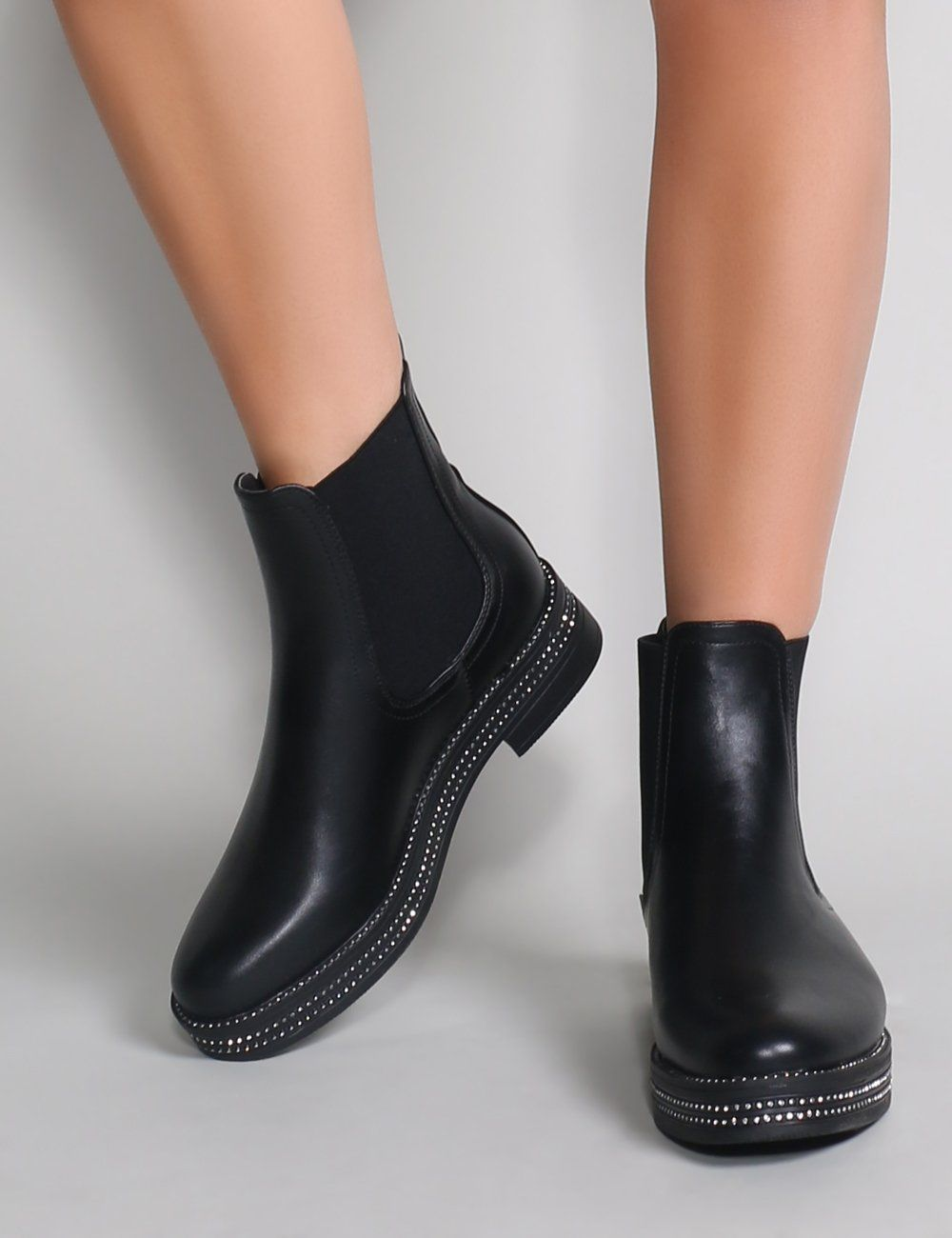 new concept 4c9c0 d6661 Glare Chelsea Boots in Black   SHOES   Chelsea boots, Boots ...