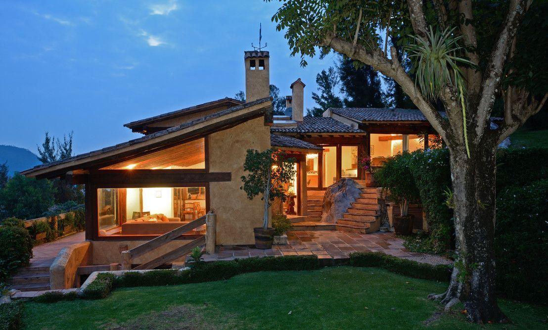 Diseno Casas De Campo Modernas Buscar Con Google Ranch Style House Plans House Styles Modern House Exterior