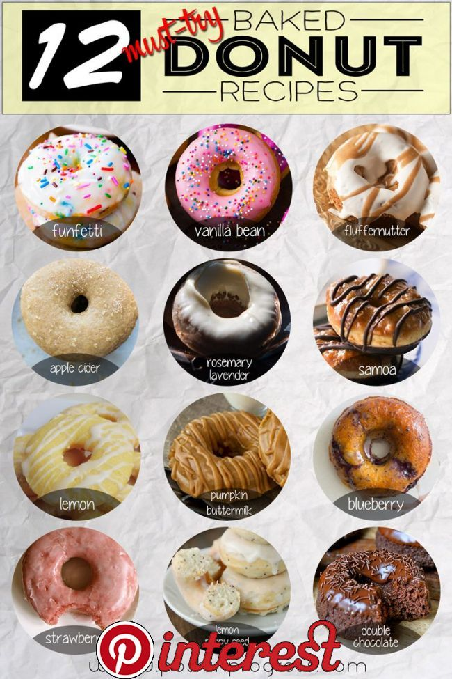 12 Must-Try Baked Donut Recipes   Stacey shares 12 baked donut recipes that she wants to try since she's never made baked donuts before. She talks about free donuts for National Donut Day.