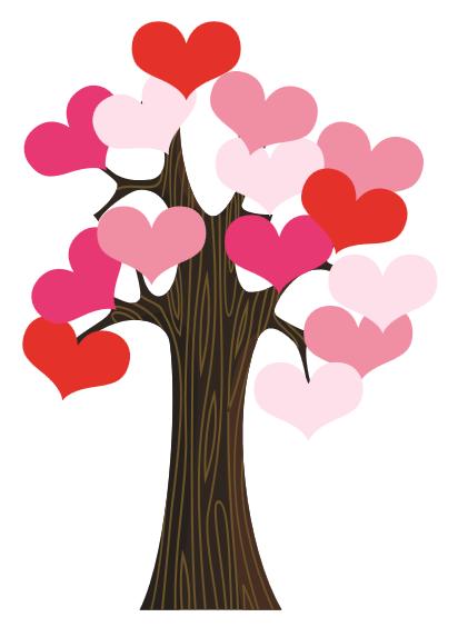 Classroom Door Valentine Heart Tree | Valentine's Day ...
