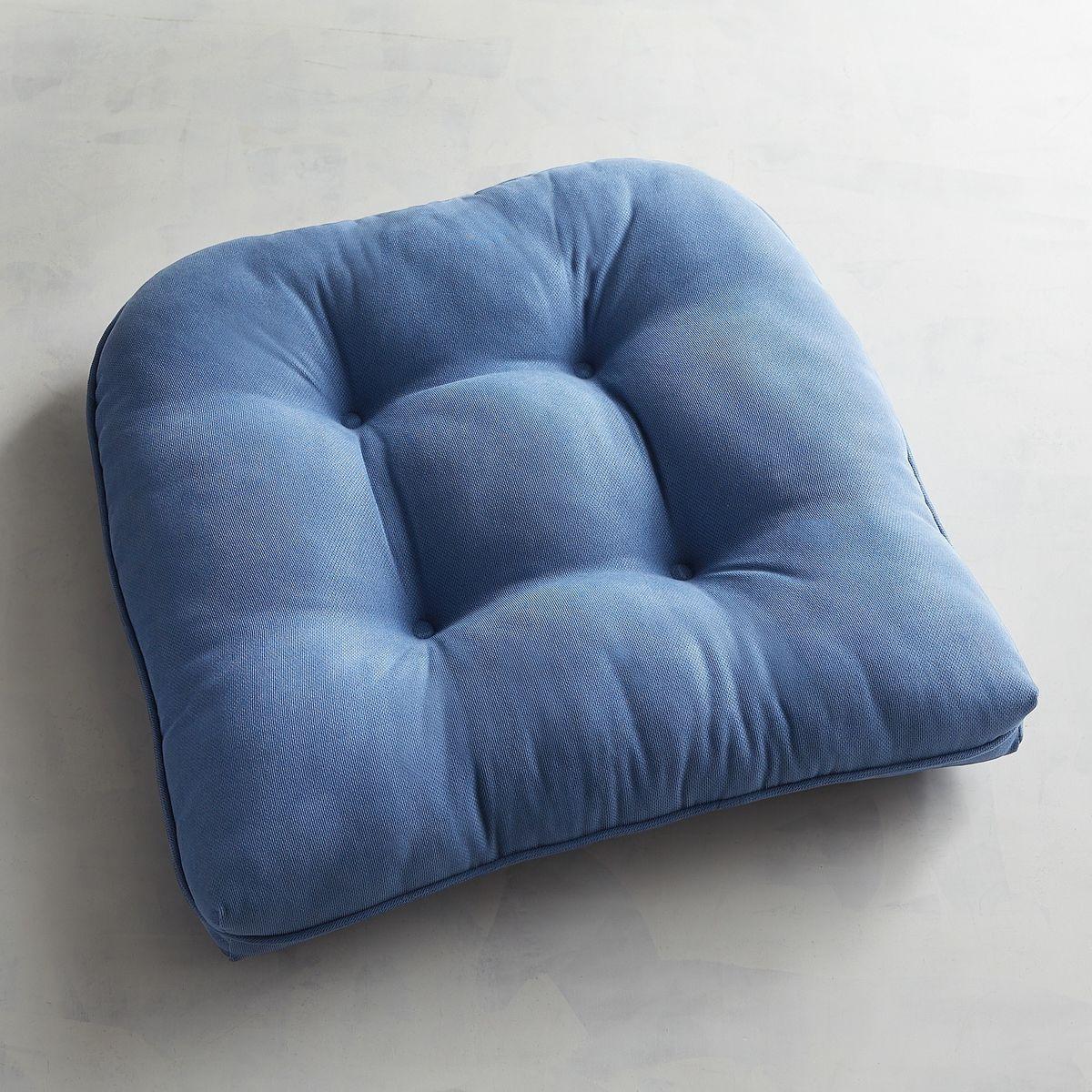 Standard Contour Chair Cushion In Calliope Denim Pier 1 Imports Indoor Chair Cushions Chair Cushions Outdoor Chair Cushions