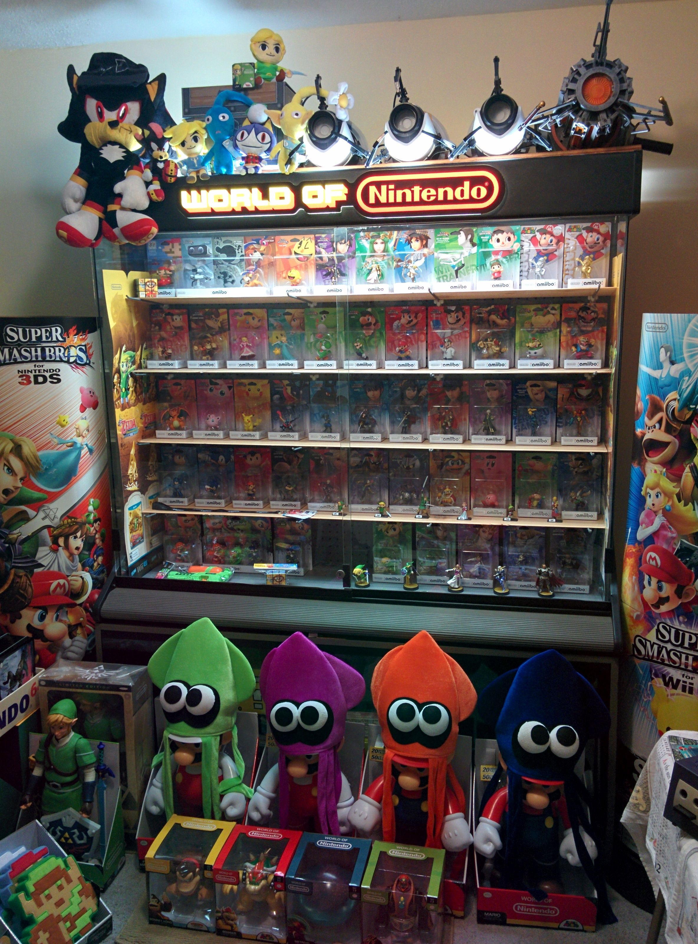 Amiibo Display Cool Amiibo Display Video Game Rooms