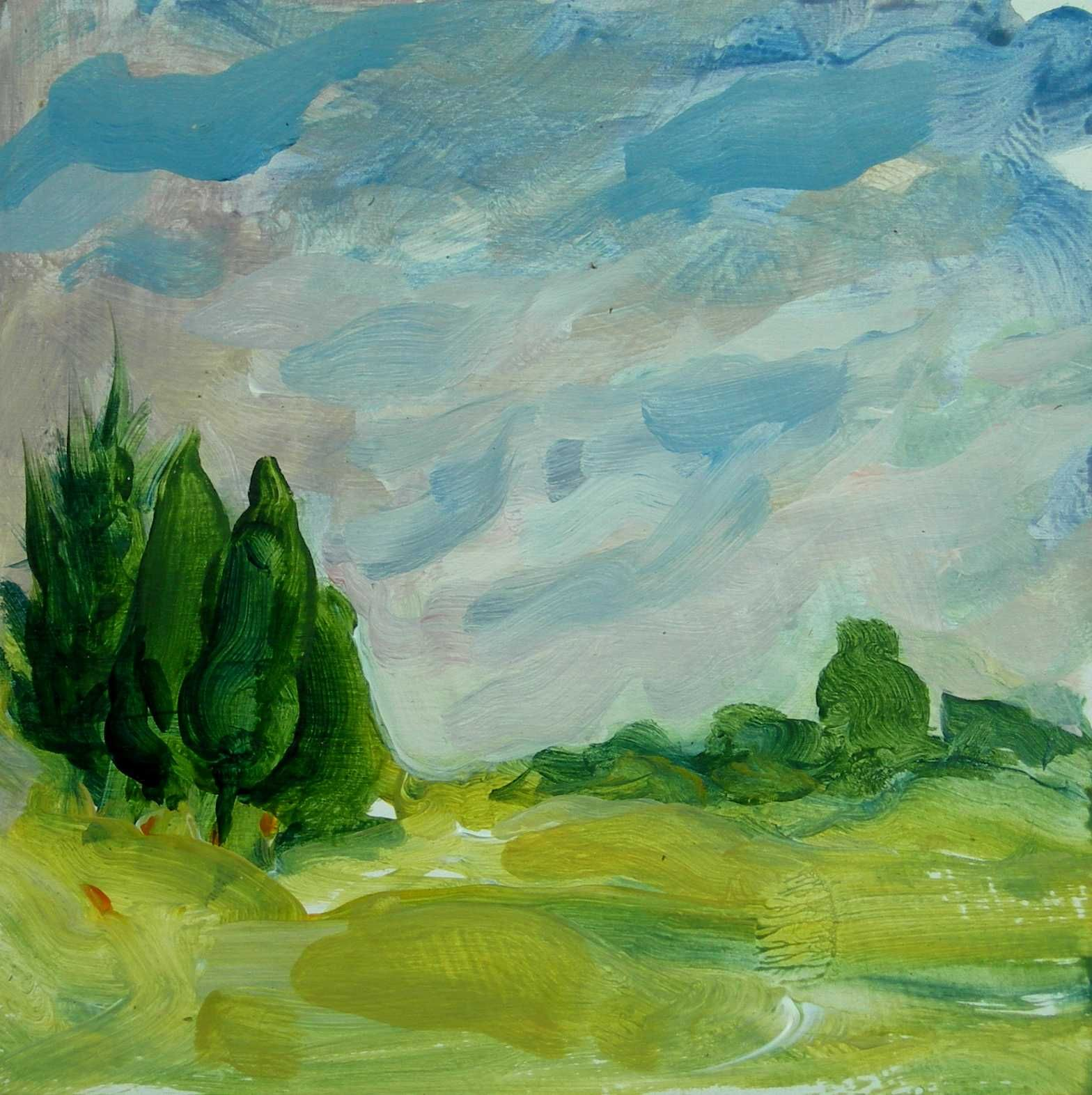 Image result for creative landscape painting | Abstract Landscape ...