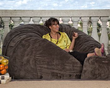 Oversized Bean Bag Chair Supersac For The Home Bean