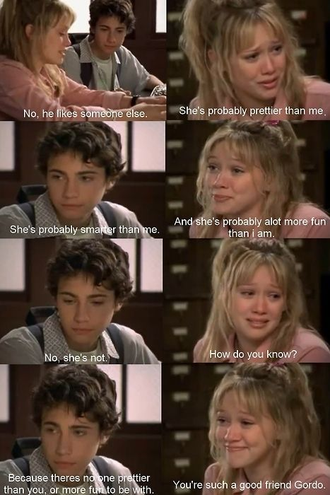 And it pains my cold, dark heart she never realized this. | Why Lizzie And Gordo Were The Most Perfect Couple That Never Actually Existed
