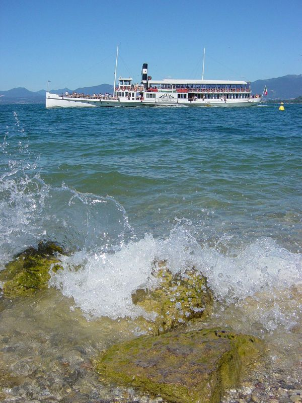 Lake Garda, the ferry