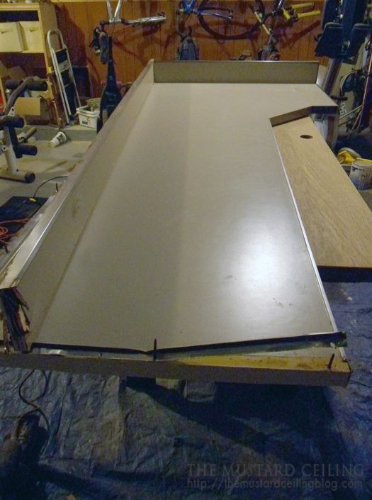 Use Old Countertop As A Template For The New Wood Countertop The