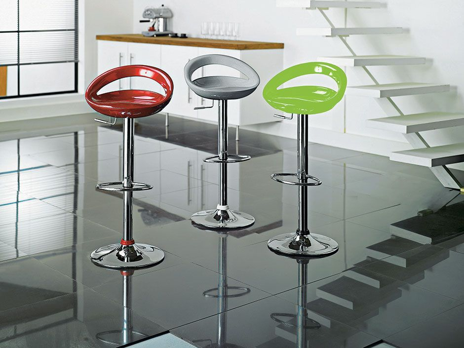 This Gas Lift Bar Stool From The Ottawa Collection At