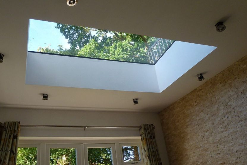 Our fixed flat rooflights are triple glazed with 6mm toughened, self ...
