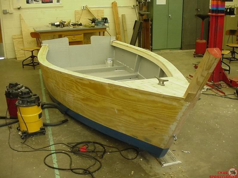 Plywood Skiffs - Downeast Boat Forum   power skiff in 2019   Wooden boat kits, Wooden boat plans ...