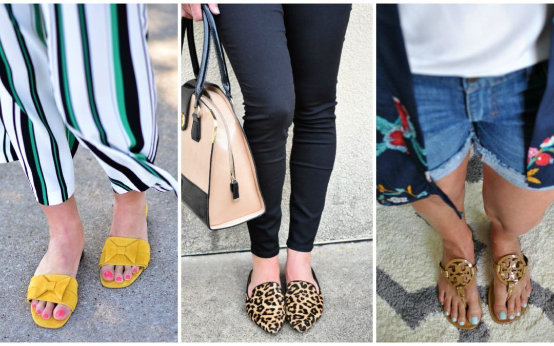 Five Shoes You Need for Spring and Summer #summervacationstyle