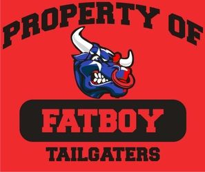 Fatboy Tailgaters  printed for Texans tailgating!
