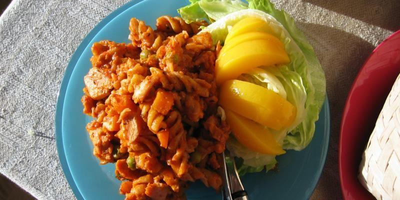 Mango-kanapasta | Myllyn Paras