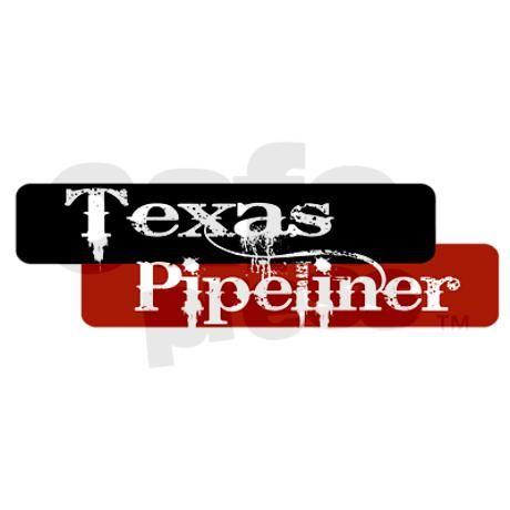 TEXAS PIPELINER TEXAN PIPE LINER DECAL VINYL STICKER  OIL GAS  PIPELINE HOUSTON