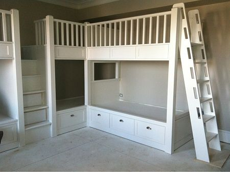Pin By Haley Lampman On Pre Mommy Bunk Beds Built In Built In Bunks Bunk Beds