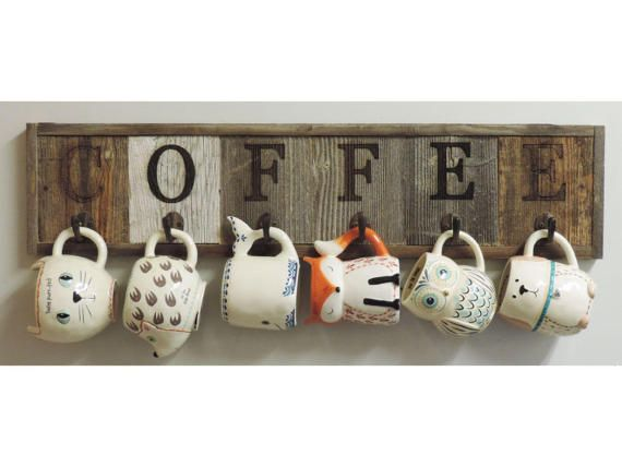 The Ultimate Coffee Lovers Gift Guide Coffee Cup Holder Mug Rack Coffee Cup Rack