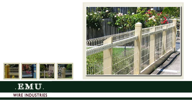 Fences, Gates Angelinas. Woven Wire products from Emu Wire | back ...