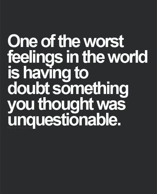 Doubt Quotes Impressive Top 30 Trust Quotes  Pinterest  Trust Quotation And 30Th