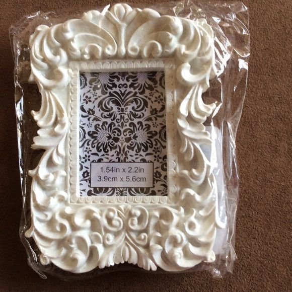 NEW Michael's tiny white ornate photo frame (With images
