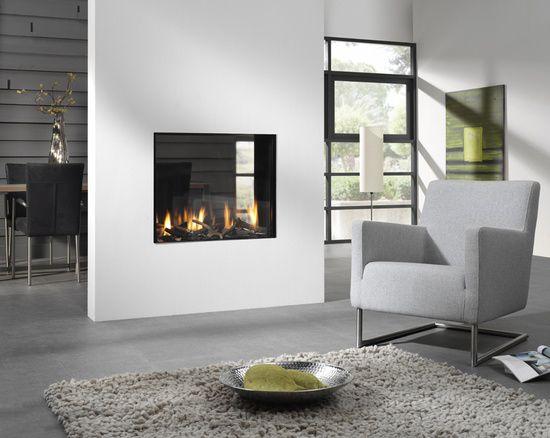 Open haard in het interieur luxe opties in modern en klassiek
