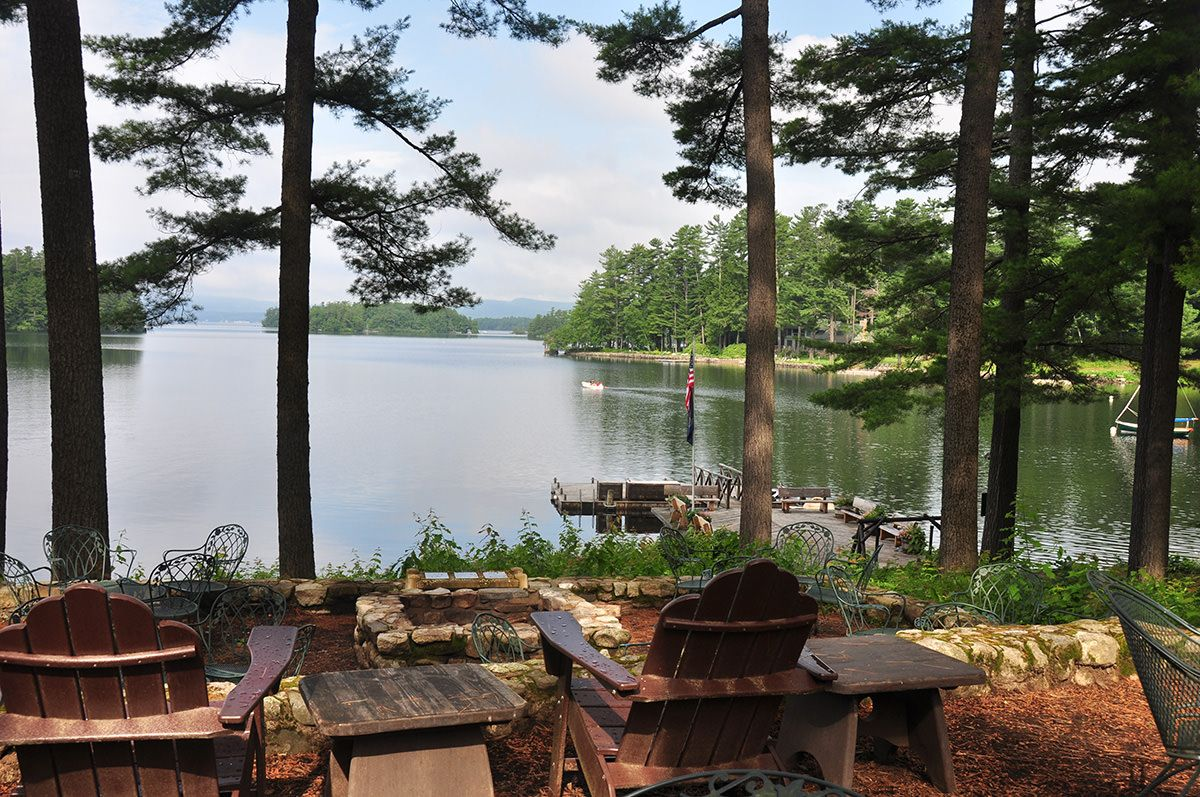 Migis Lodge Luxurious Lakefront Cottages In Maine Maine Vacation