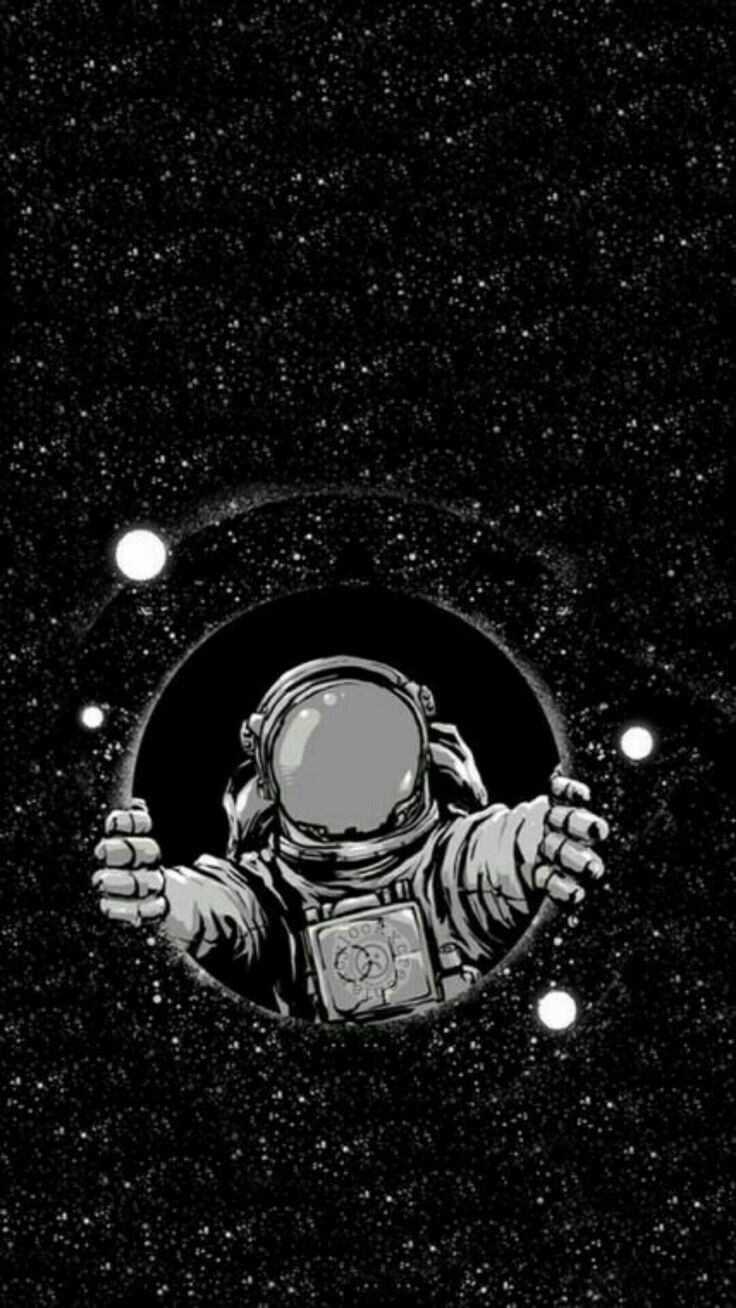 Astronaut Outer Space Illustration Fiction Astronomical Object