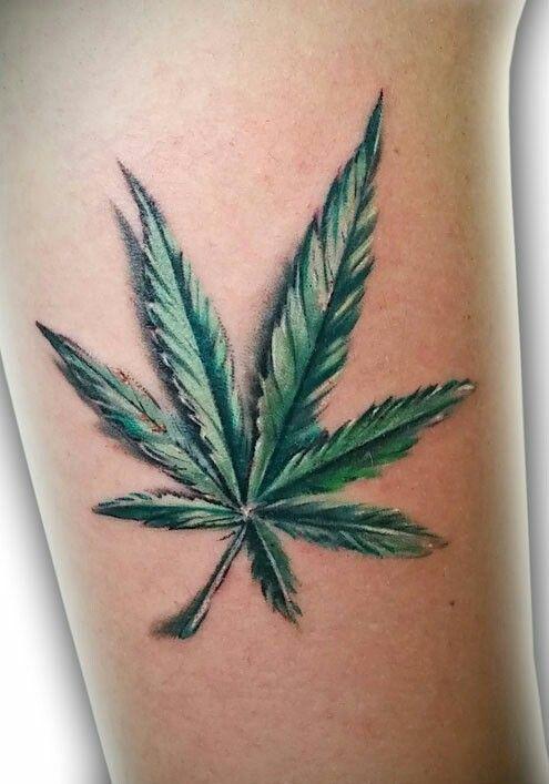 9942dcdb99c3e Weed Tattoo | ☆ Tattoo Ideas ☆ | Weed tattoo, Marijuana tattoo ...