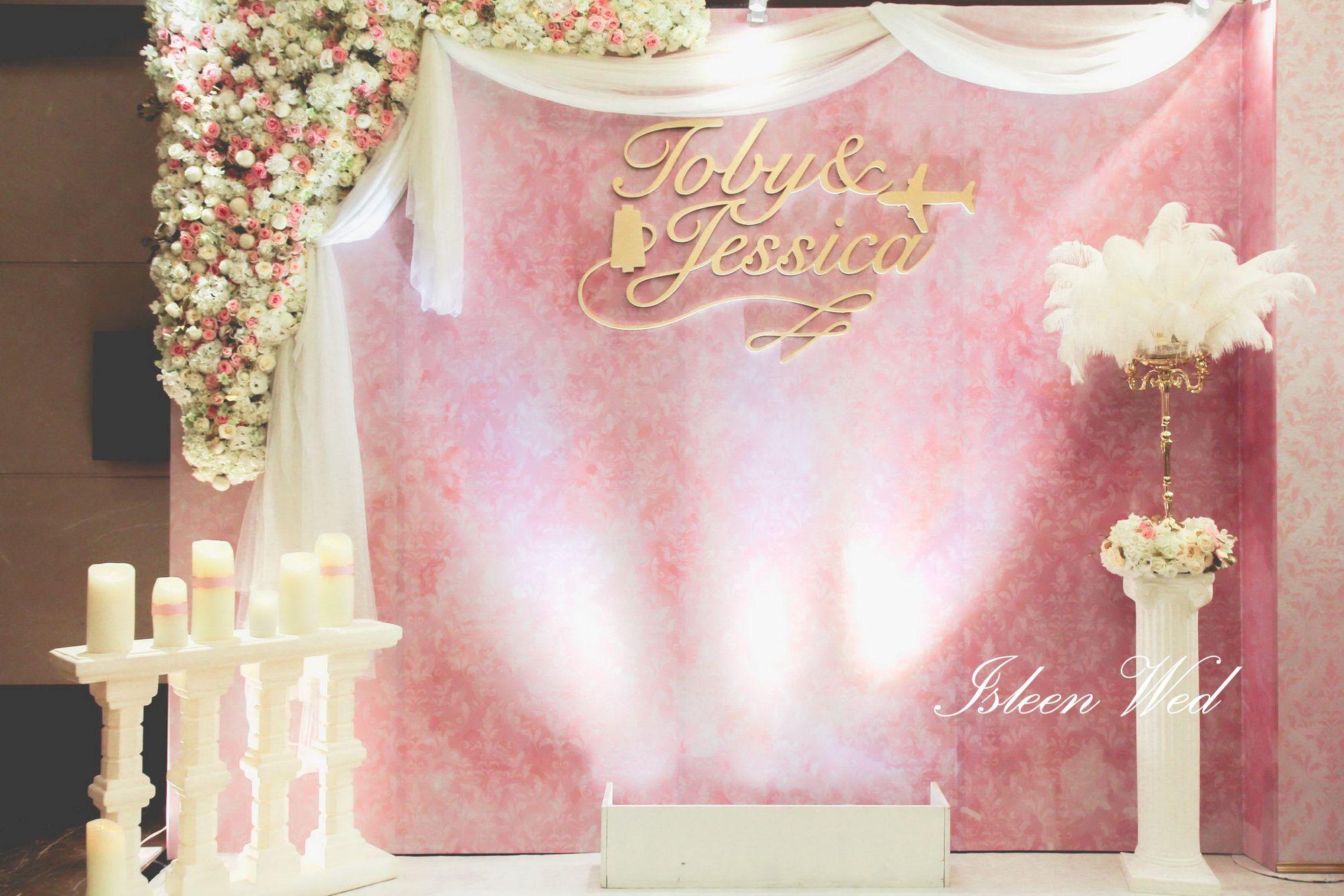 愛絲琳創意婚禮 一站式完美婚禮 isleenwed isleenwed.com/ Floral design wedding decorations 婚禮布置 空間設計 花藝設計 ...