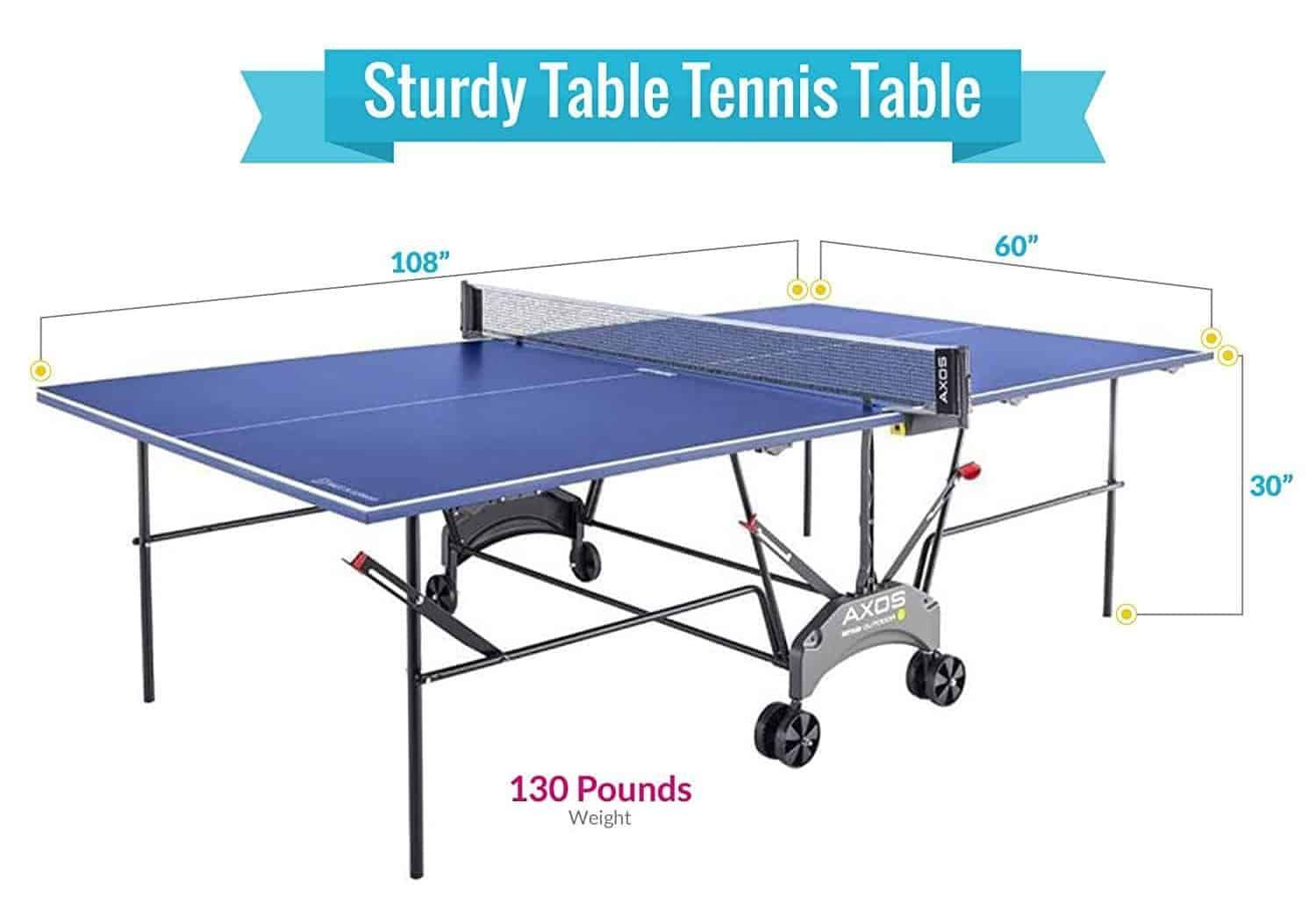 Top 10 Best Ping Pong Tables In 2020 Reviews Buying Guides Best Ping Pong Table Outdoor Table Tennis Table Table Tennis