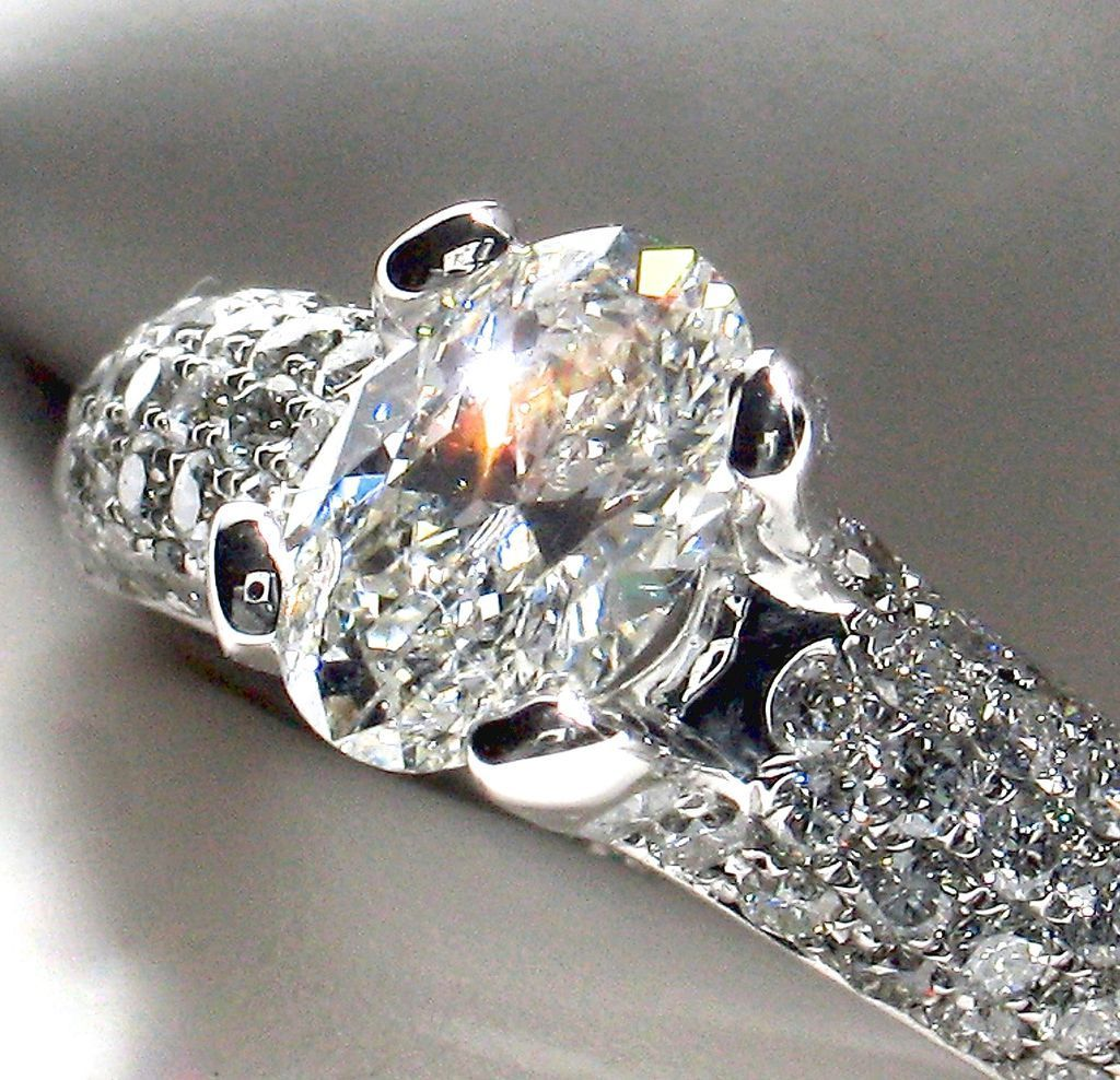ONLY 5 DAYS LEFT TO SAVE 12! 18k white gold 1.91ct ring