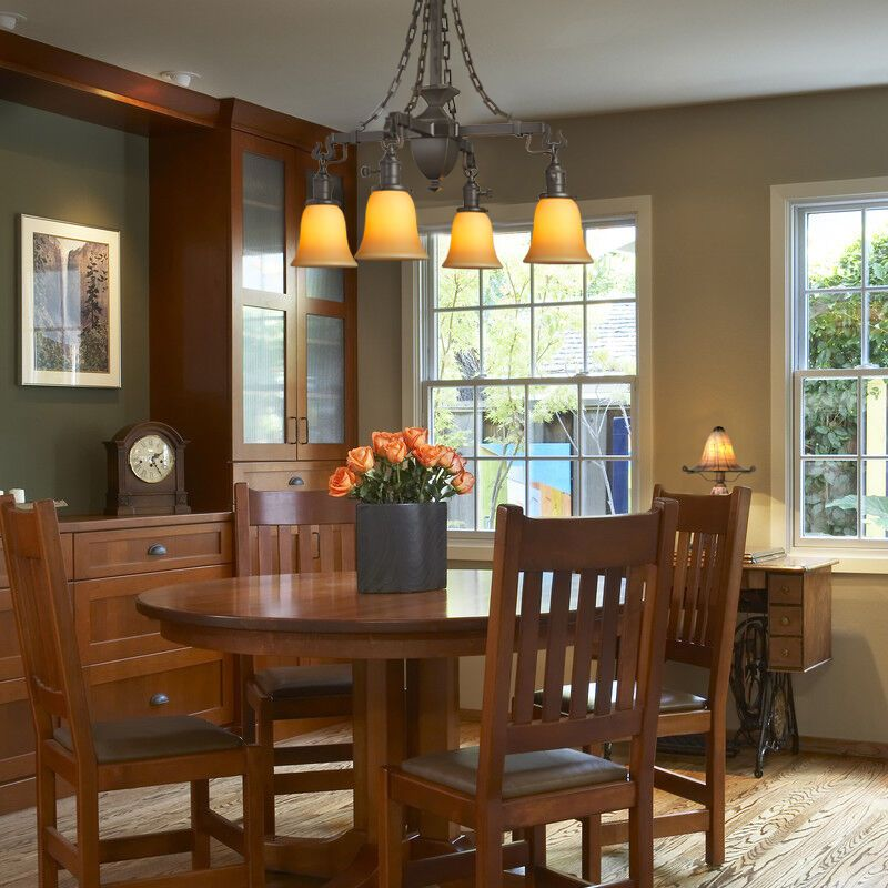 38 Craftsman Style Chandeliers Ideas In, Craftsman Lighting Dining Room Chandelier