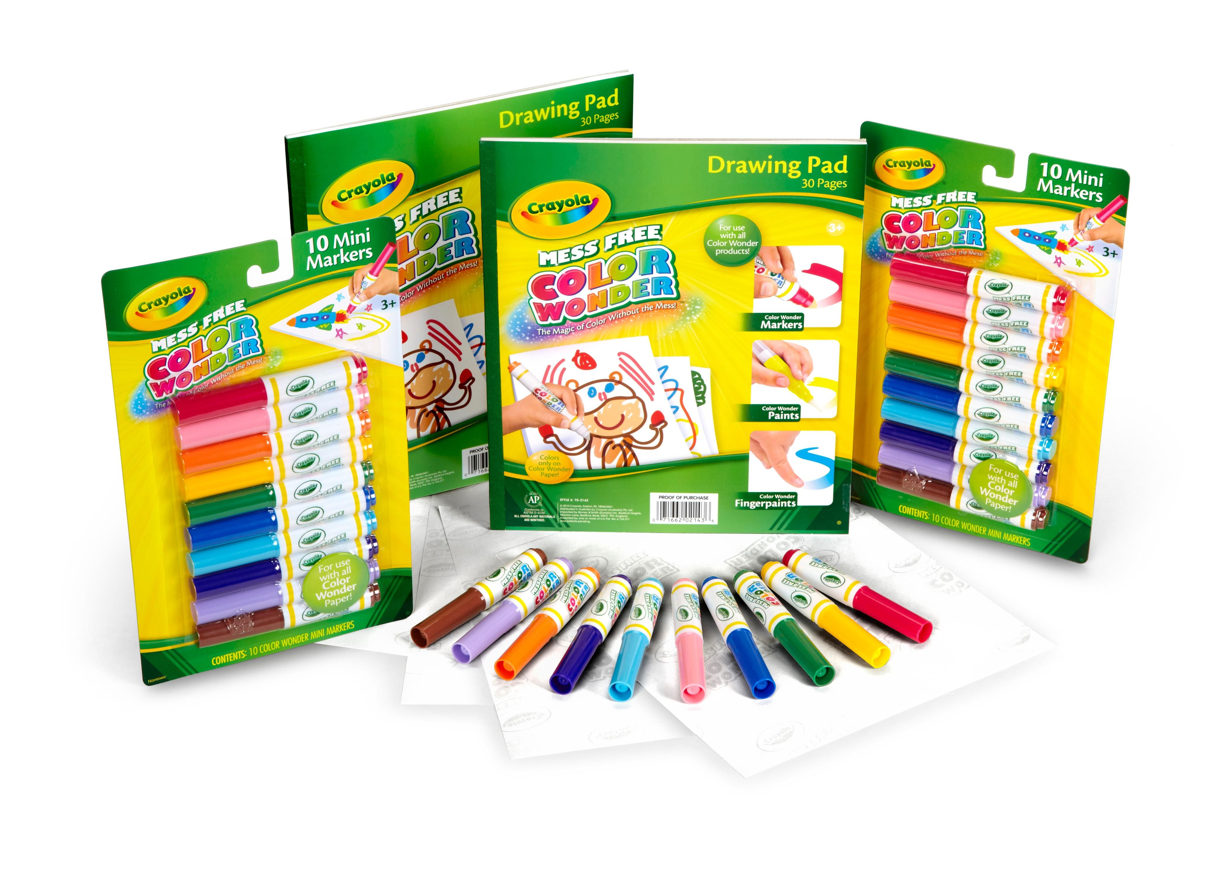 AmazonSmile: Crayola Color Wonder Mess Free Coloring, No Mess ...