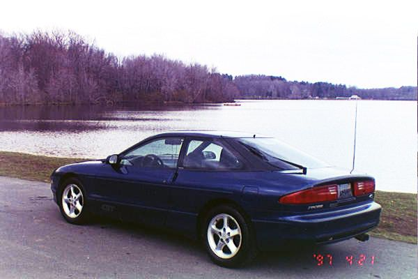 Side View Of My 93 Ford Probe Gt Ford Probe Gt Ford Probe Car Guys