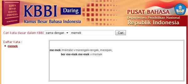 Arti kata memek menurut kbbi kamus besar bahasa indonesia adalah arti kata memek menurut kbbi kamus besar bahasa indonesia adalah merengek stopboris Choice Image