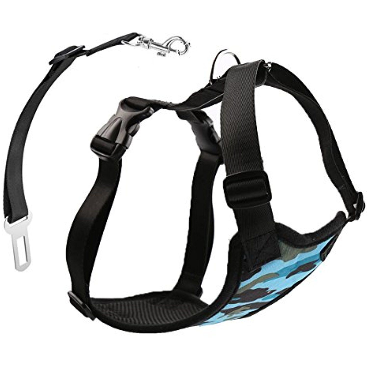 Stock Show Pet Dog Vehicle Harnesses with Car Safety Belt