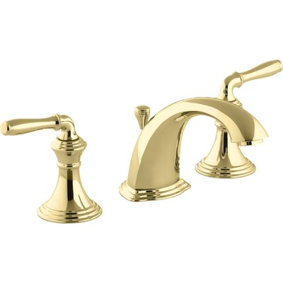 Photo of Devonshire Widespread Bathroom Faucet with Drain Assembly Finish: Vibrant Polished Brass