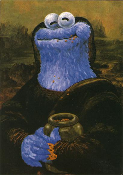Post Card Sesamstra 223 E Monster Lisa By Sesamstra 223 E
