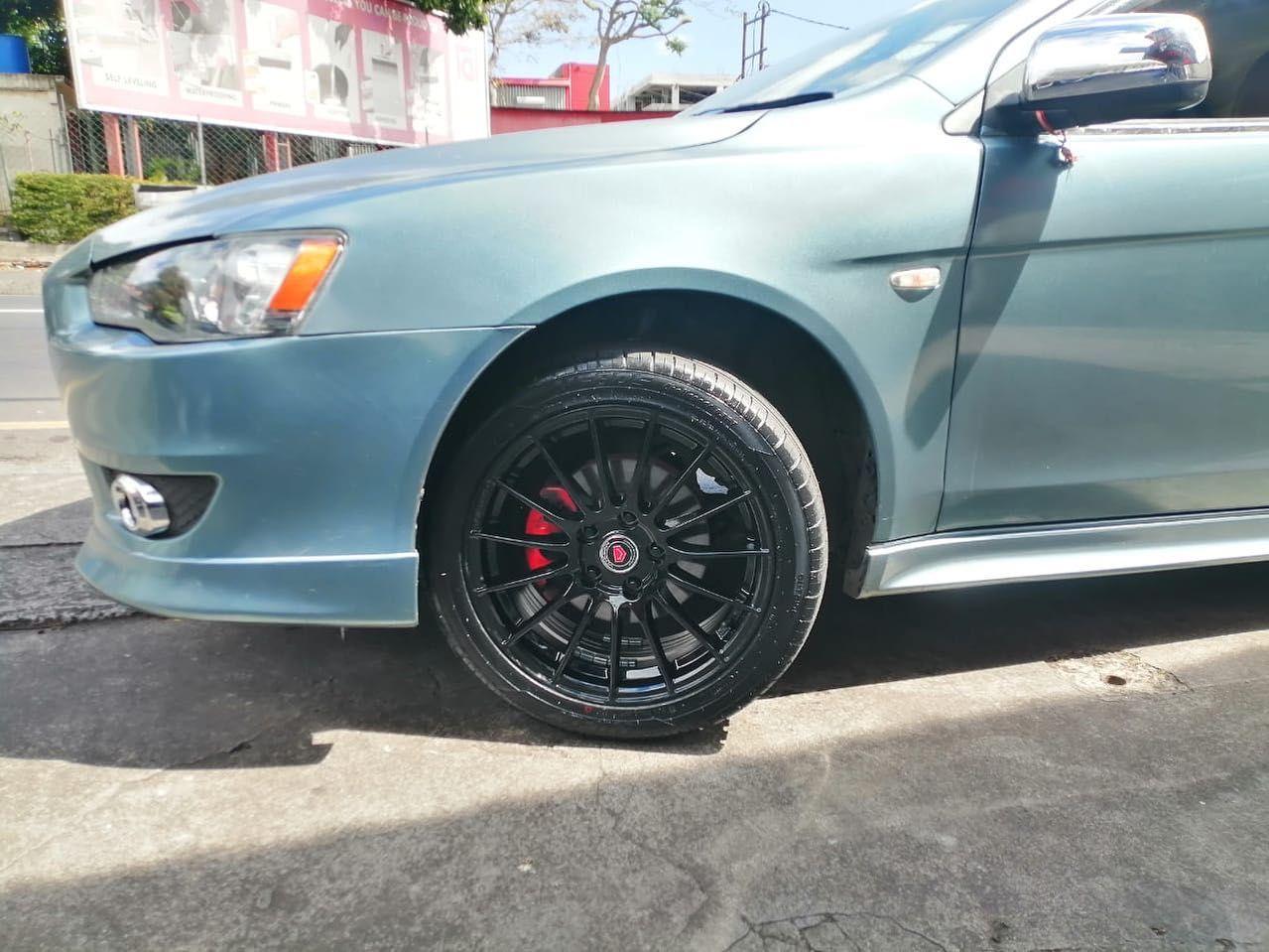 Alloy Wheels 17 Installed On Mitsubishi Lancer Ex In 2020 Mitsubishi Lancer Mitsubishi Lancer