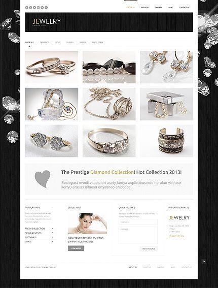 jewelry most popular wordpress template 44949 bracelets