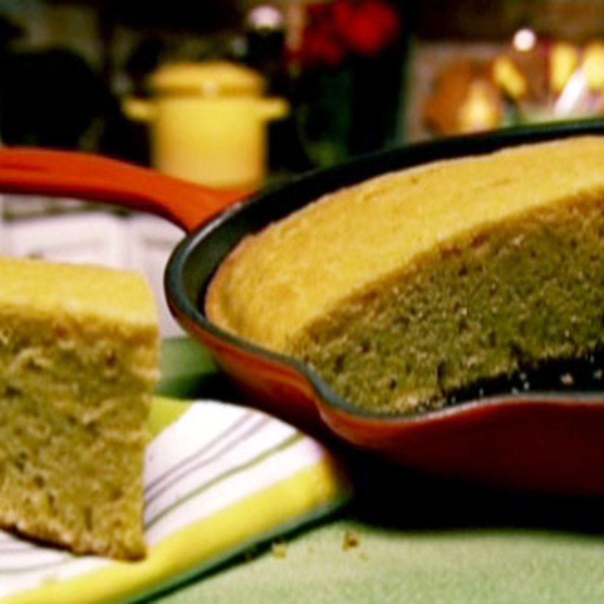 Ginas crusty cornbread recipe food network recipes