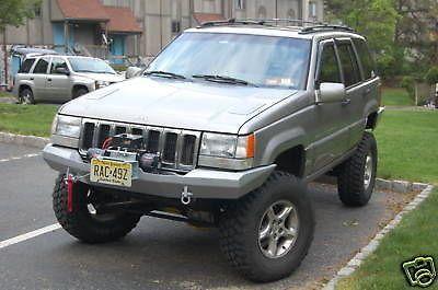Custom Winch Bumper For Jeep Grand Cherokee Zj 1993 1998 Jeep