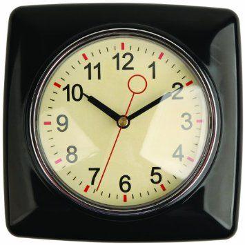 Retro kitchen wall clock Dream kitchen Pinterest - wanduhr für küche
