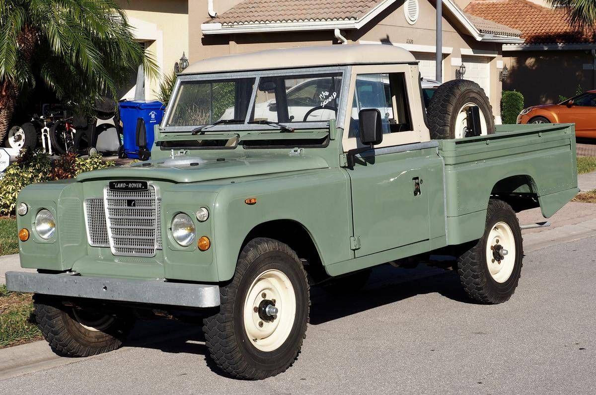 1978 Land Rover Series 3 For Sale 2037244 Hemmings Motor News