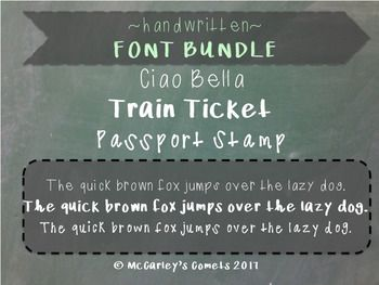 Great new {handwritten} fonts for all you font collectors like meeeee!PLEASE NOTE: Be sure you know how to download and install a font PRIOR to purchasing this license. I will not be able to provide customer support for font installation. If you need help with this, there is a great FAQ here: Installation Instructions (-: It really is super easy!