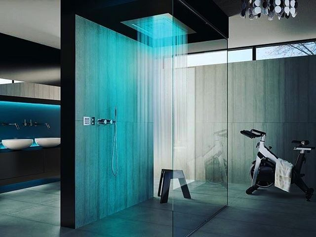 Exotic shower design #architecture #shower #design #like4like - badezimmer schöner wohnen
