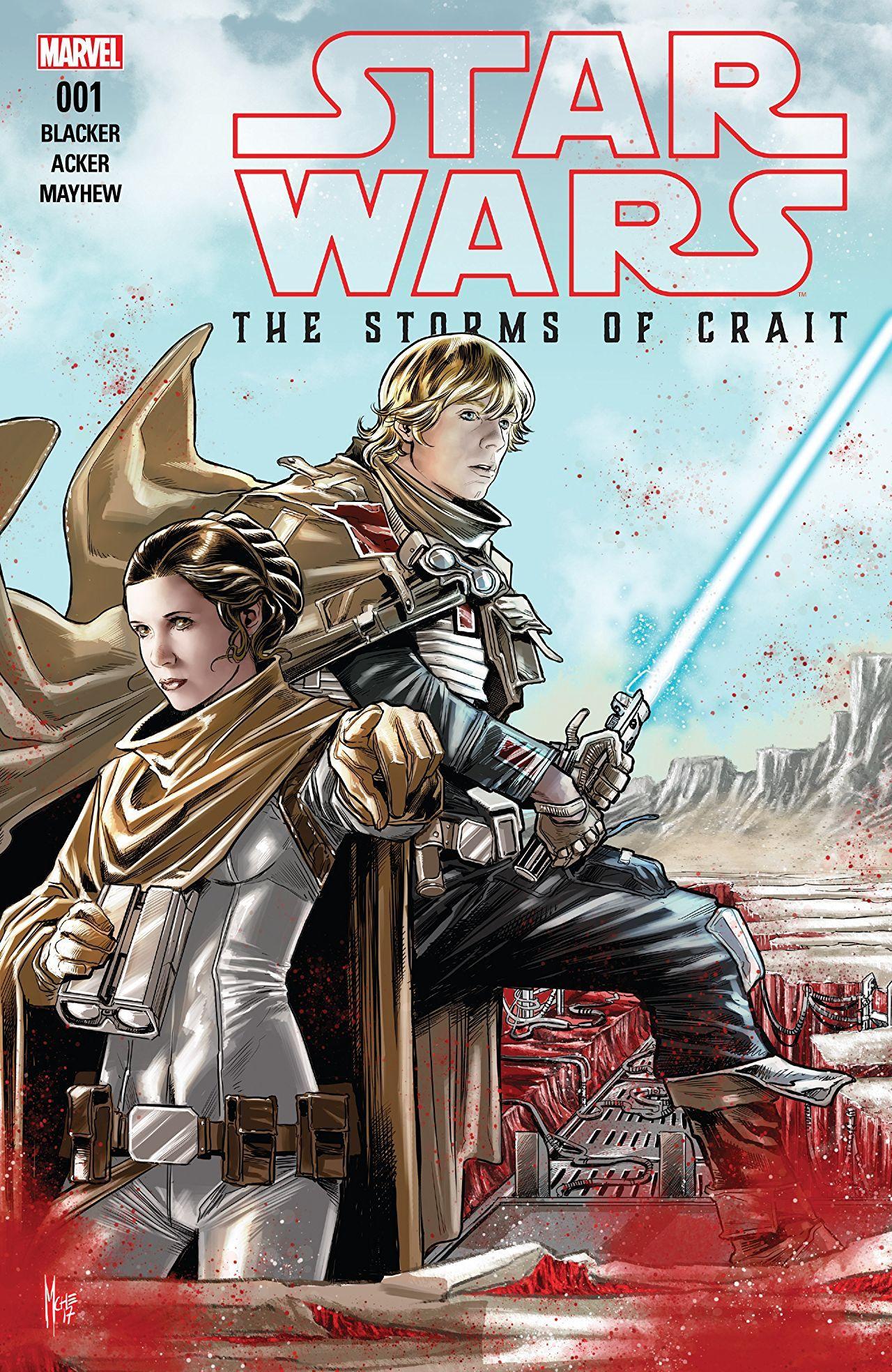 Star Wars Last Jedi Storms of Crait #1 Wijngaard Variant