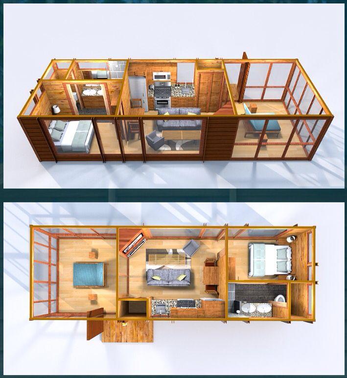escape homes classic floorplan tiny loft cheap tiny on best tiny house plan design ideas id=39104