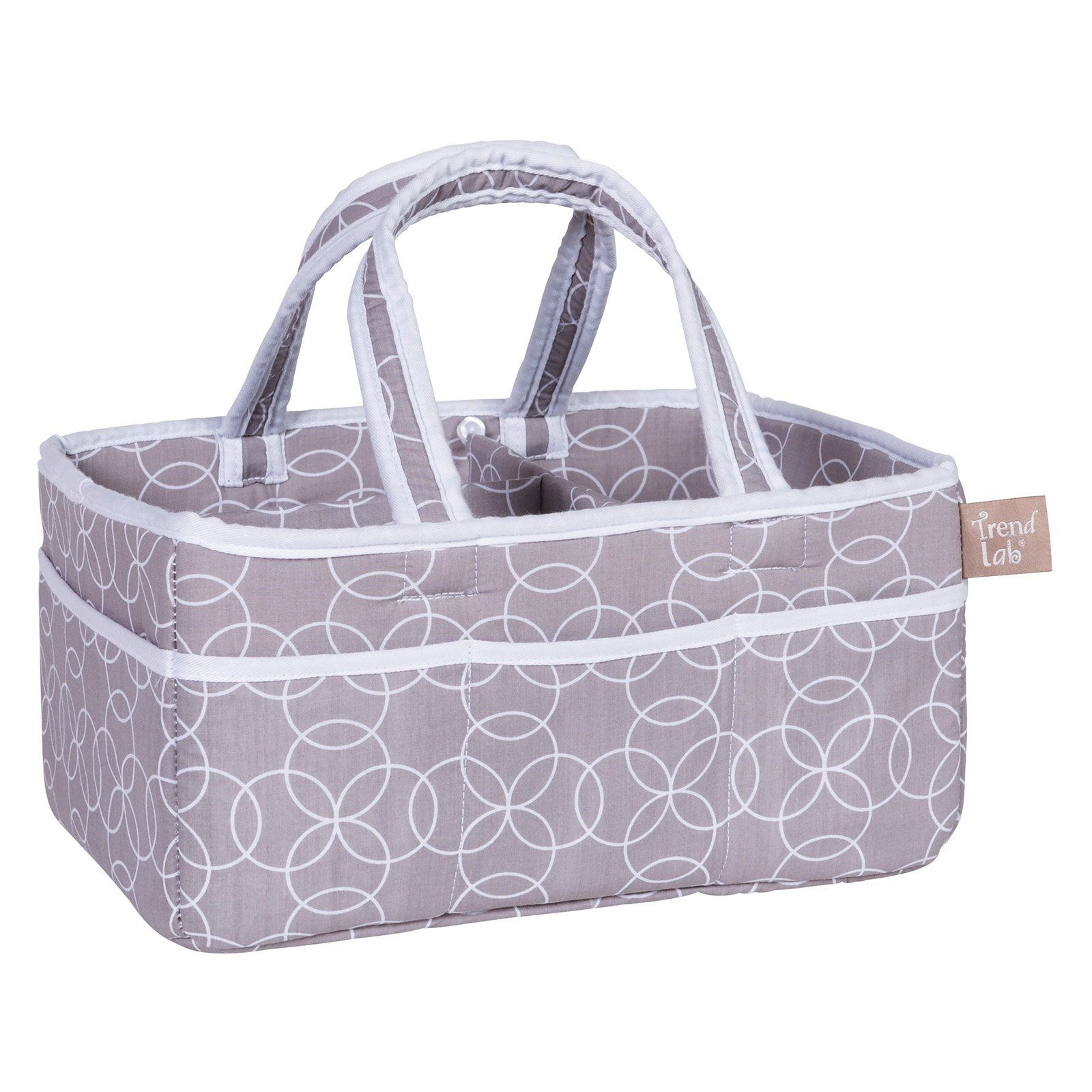 Trend Lab Circles Gray Storage Caddy In 2019 Storage